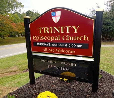 Sign For Episcopal Church Signs